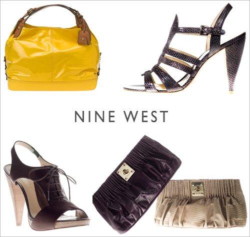 NINE WEST  ул Эрму 8  Женская обувь аксессуары и сумки.Имеются коллекции такие  как Карен Элсон , Джайлс Дикон , Бутик-9 , Runway Relief , Shoelaborations , Love Fury.
